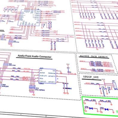 نقشه خوانی مدارات الکترونیکی