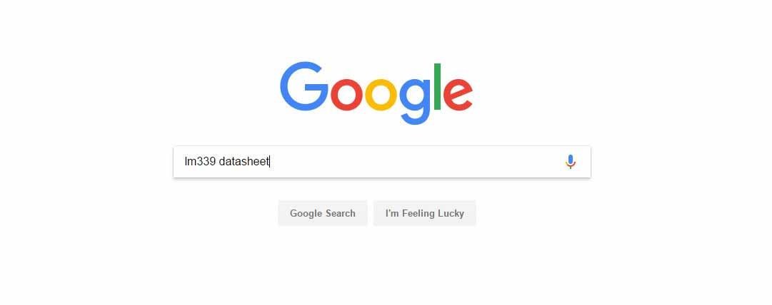 سرچ در گوگل برای گرفتن دیتاشیت