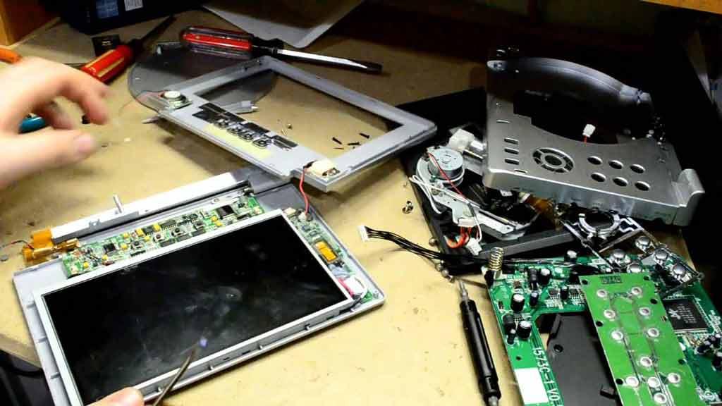 آموزش تعمیر ضبط ماشین
